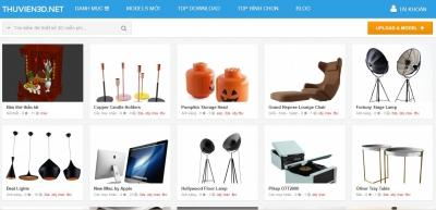 Xây dựng web ứng dụng thư viện đồ họa 3D