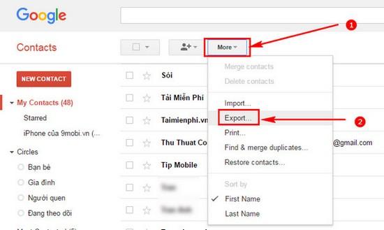 tai danh ba tu google mail