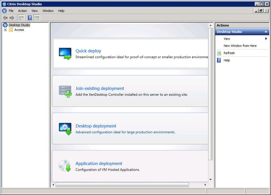 citrix desktop virtualisation