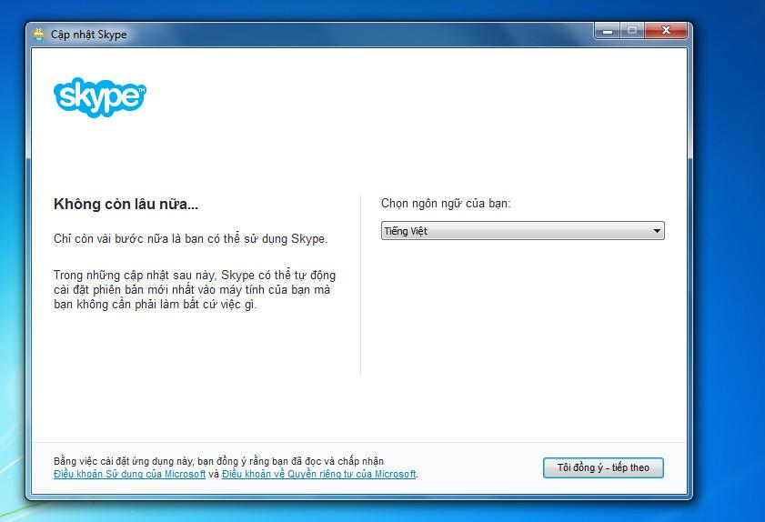Hướng dẫn sửa lỗi Cannot find or load Microsoft Installer khi cài đặt skype trên Windows 7