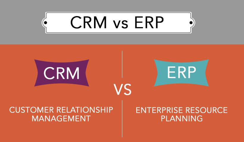 CRM là gì? ERP là gì? So sánh CRM và ERP