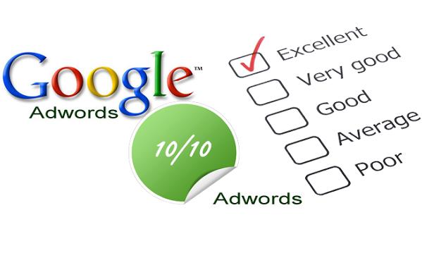 Đánh giá chất lượng, hiệu quả chạy Google AdWords Search