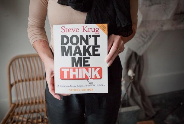 Giới thiệu sách: Don't make me think -  Steve Krug