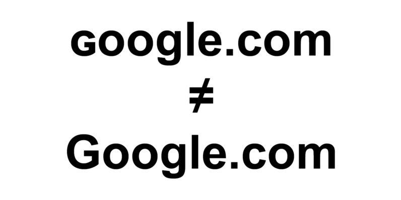 Hãy cẩn thận, ɢoogle.com không giống với google.com nhé