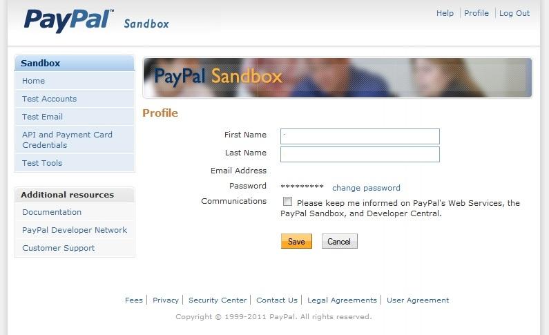 Hướng dẫn tạo tài khoản PayPal Sandbox để test code