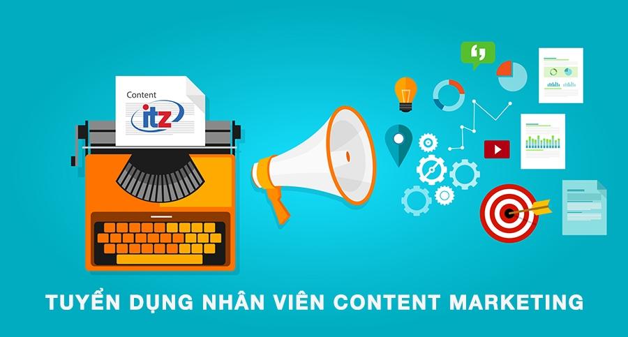Tuyển nhân viên content marketing