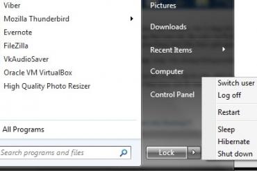 Bật chế độ ngủ đông (Hibernate) cho Windows 7