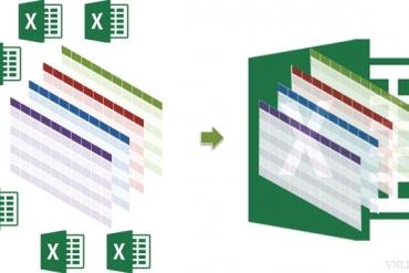 Cách nối Sheet trong EXCEL