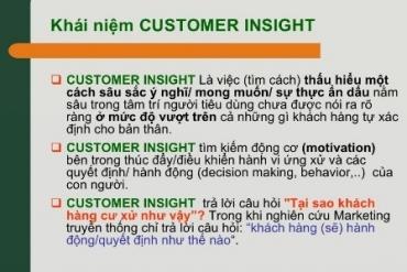 Insight thực sự là gì? - Một Insight tốt sẽ như thế nào?