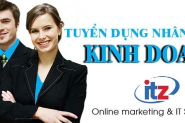 ITZ Việt Nam tuyển dụng nhân viên kinh doanh website