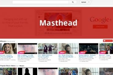 Quảng cáo Youtube Masthead - Quảng cáo trên trang chủ Youtube