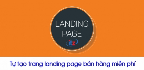 Công cụ tạo landing page miễn phí
