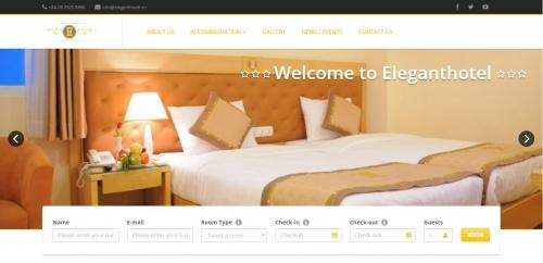 Thiết kế web cho khách sạn
