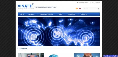 Thiết kế web công ty 02