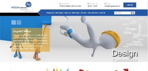 Thiết kế web công ty 03