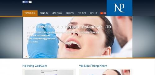 Thiết kế web công ty 06
