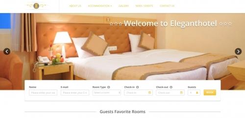 Thiết kế web đặt phong khách sạn