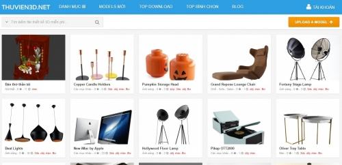 Thiết kế web thư viện đồ họa