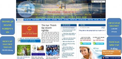 Thiết kế web tin tức báo điện tử