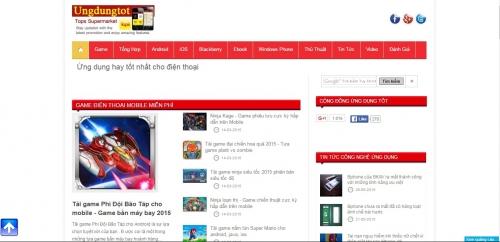 Thiết kế web tin tức tổng hợp 02