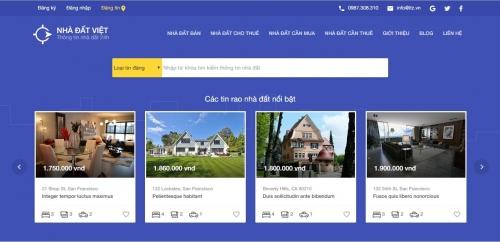 Web rao bán nhà đất